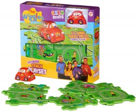 NEW-The-Wiggles-Puzzle-Track-Set on sale