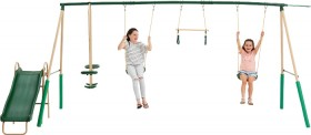 NEW-Action-Sports-6-Station-Swing-Set on sale