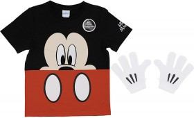 Disney-Mickey-Dress-Up-Tee-with-Gloves on sale