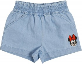 Disney-Minnie-Chambray-Shorts on sale