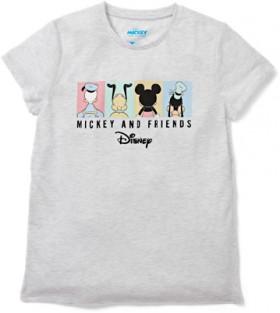 Disney-Womens-Tee-Light-Grey on sale
