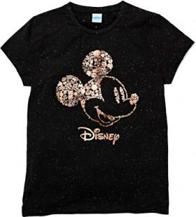 Disney-Womens-Tee-Black on sale