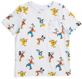 Disney-Boys-Mickey-Mouse-Friends-Tee-White on sale