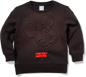 Disney-Kids-Mickey-Embossed-Sweat on sale