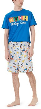 Disney-Mens-Mickey-Pyjama-Set on sale