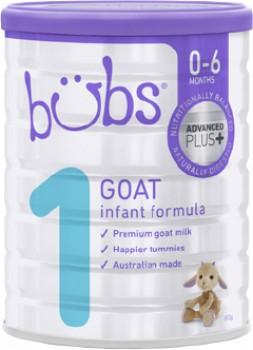 Bubs-Advanced-Plus-Goat-Infant-Formula-Stage-1-800g on sale