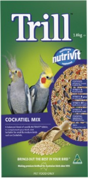 Trill-Cockatiel-Mix-1.8kg on sale
