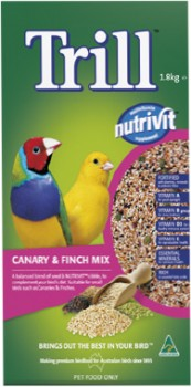 Trill-Canary-Finch-Mix-1.8kg on sale