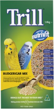 Trill-Budgerigar-Mix-1.8Kg on sale