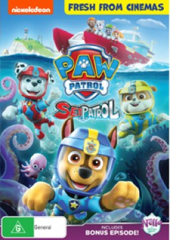 Paw-Patrol-Sea-Patrol-DVD on sale