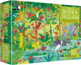 NEW-Usborne-Book-and-Jigsaw-In-the-Jungle on sale