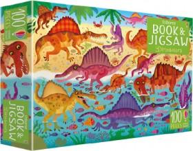 Usborne-Book-Jigsaw-Dinosaurs on sale