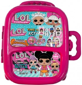 NEW-L.O.L.-Surprise-THEBIGREVEAL-Activity-Suitcase on sale