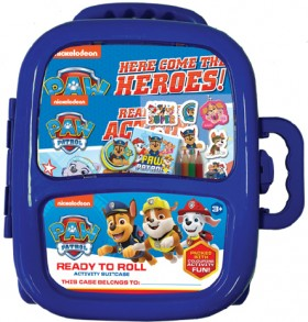 NEW-Paw-Patrol-Ready-to-Roll-Activity-Suitcase on sale
