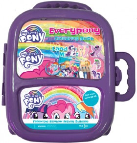 NEW-My-Little-Pony-Follow-the-Rainbow-Activity-Suitcase on sale