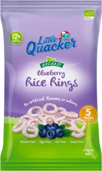 Little-Quacker-Rice-Rings-Blueberry on sale
