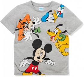 Disney-Boys-Mickey-Mouse-Friends-Tee-Grey on sale