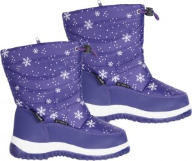 37-South-Snowflake-Water-resistant-Kids-Snow-Boot on sale