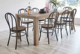 NEW-Toronto-9-Piece-Dining-Set-with-Replica-Bentwood-Chairs on sale