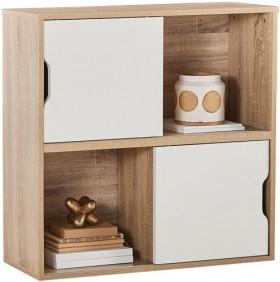 Zayne-4-Shelf-2-Door-Unit on sale