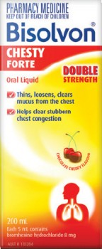 Bisolvon-Chesty-Forte-Double-Strength-200mL on sale