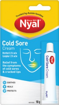 Nyal-Cold-Sore-Cream-10g on sale