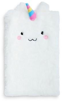 Paperchase-A5-Fluffy-Unicorn-Notebook on sale