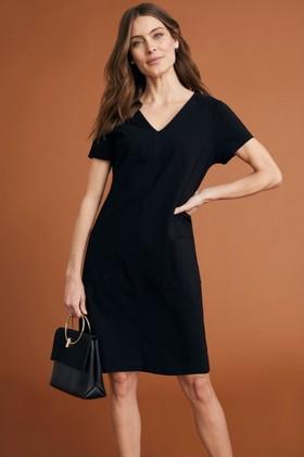 Capture-Bengaline-Pocket-Detail-Dress on sale