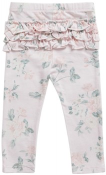 Pumpkin-Patch-Old-Rose-Legging-with-Ruffles on sale
