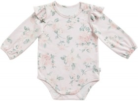 Pumpkin-Patch-Old-Rose-Frill-Bodysuit on sale