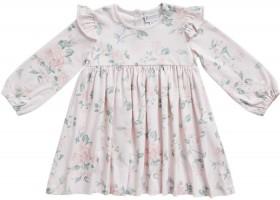 Pumpkin-Patch-Old-Rose-Printed-Dress on sale