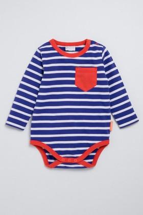 Pumpkin-Patch-Organic-Cotton-Stripe-Bodysuit-with-Pocket on sale