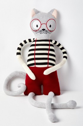 Charlie-Cat-Knitted-Toy on sale