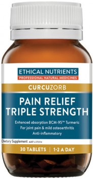 Ethical-Nutrients-Curcuzorb-Pain-Relief-Triple-Strength-30-Tablets on sale