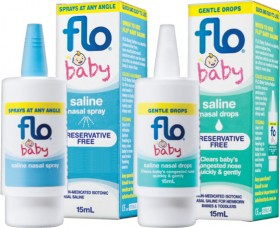 Flo-Baby-Saline-Spray-or-Drops-15mL on sale