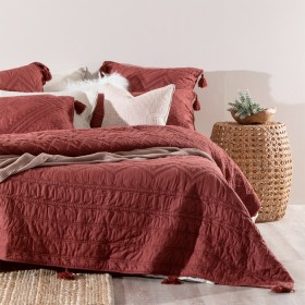 Amahle-Rust-Bed-Cover-Set-by-Habitat on sale
