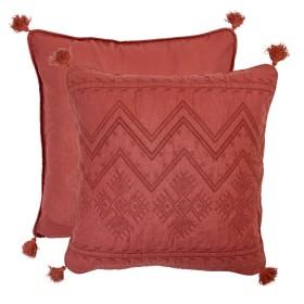 Amahle-Rust-European-Pillowcase-by-Habitat on sale