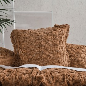 Somers-Caramel-European-Pillowcase-by-Linen-House on sale