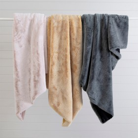 Vermont-Faux-Fur-Throw-by-M.U.S.E on sale