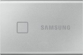 Samsung-Portable-SSD-T7-Touch-1TB-Silver on sale