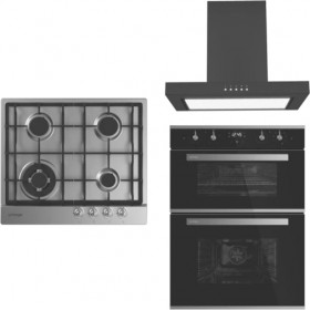 Omega-60cm-Double-Oven-Cooking-Pack-Gas on sale