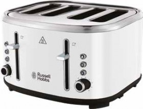 Russell-Hobbs-Legacy-4-Slice-Toaster-White on sale