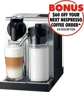 Nespresso-DeLonghi-Lattissima-Pro-Capsule-Machine on sale