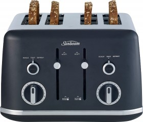 NEW-Sunbeam-Gallerie-Matte-4-Slice-Toaster on sale