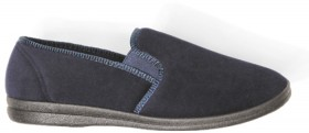 Grosby-Mens-Slippers-Grey on sale