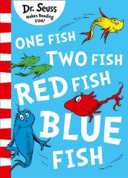 One-Fish-Two-Fish-Red-Fish-Blue-Fish on sale