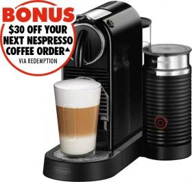 Nespresso-DeLonghi-Citiz-Milk-Capsule-Machine on sale