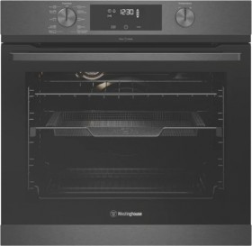 Westinghouse-60cm-Pyrolytic-Oven-Dark-Stainless on sale