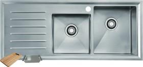 Franke-Vela-1-23-Double-Bowl-Sink on sale