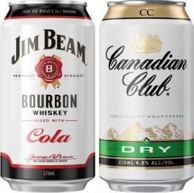 Jim-Beam-or-Canadian-Club-Cube-4.8-Varieties-24-Pack on sale